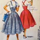 1956 McCalls 3590 Pattern, Misses  Gore Skirt, Sz 26 waist, UNCUT