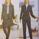 Misses Petite Lined Jacket, Skirt & Pants Butterick 4678 Pattern, Sizes 6, 8, 10, 12, UNCUT