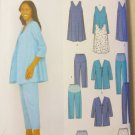 Misses Maternity Wardrobe Simplicity 9580 Pattern, Size 8 to 14, Uncut