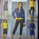 Misses' Jacket, Top, Dress, Skirt & Pants Butterick B5995 Pattern,  Sz 14 - 22, UNCUT
