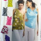 McCall's M6562 Pattern Misses lined Tops,  Size 16/18 to 24/26, Uncut