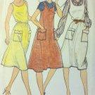 Easy Vintage Butterick 3616 Misses Jumper  Dress Pattern, Size 12, UNCUT