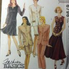 McCalls 6796 Dress or Jacket & Skirt Pattern, Size 12 14 16, Uncut