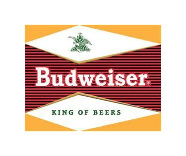 Budweiser Beer - Bullseye Logo Tin Sign
