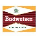 Budweiser Beer - Bullseye Logo Tin Sign