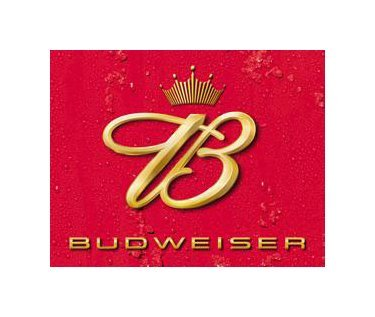 Budweiser - Crown Logo Tin Sign