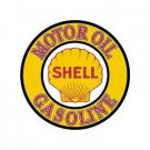Shell Gas and Oil - Round Sign