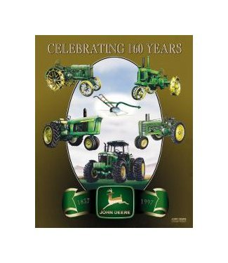John Deere - Celebrating 160 Years Tin Sign