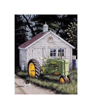 John Deere - Johnny Popper Tin Sign