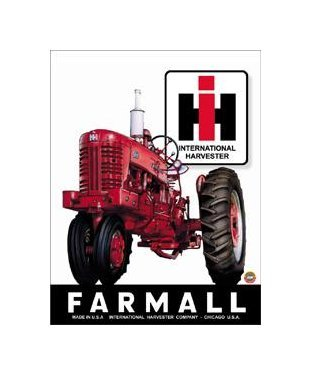 International Harvester - Farmall Tin Sign