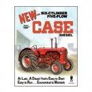 Case - Six Cylinder Five Plow Model 500 Diesel Tin Sign