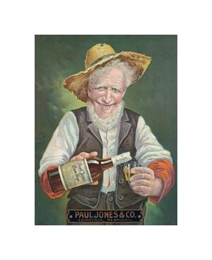 Paul Jones Rye Tin Sign