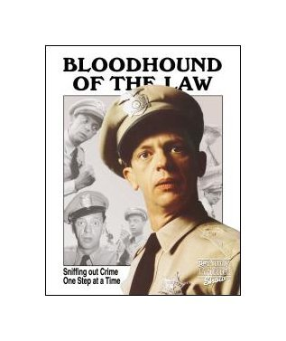 Andy Griffith - Barney Fife - Bloodhound of the Law Tin Sign