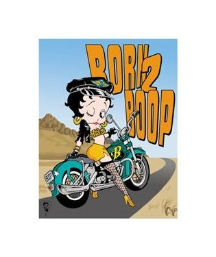 Betty Boop - Born to Boop Tin Sign