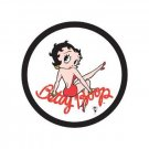 Betty Boop - Round Tin Sign