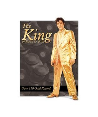 Elvis Presley - Gold Suit Tin Sign