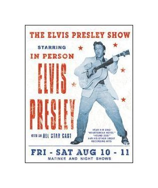 Elvis Presley - The Elvis Presley Show Tin Sign