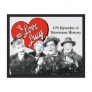 I Love Lucy - 179 Episodes of Television History Tin Sign