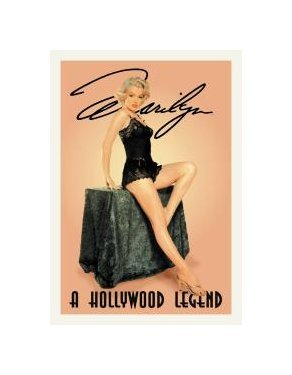 Marilyn Monroe - A Hollywood Legend Tin Sign