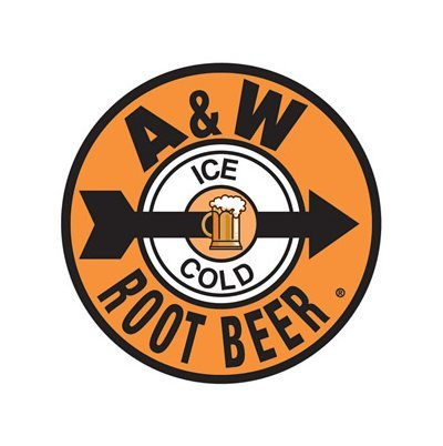 A&W Root Beer - Ice Cold Tin Sign