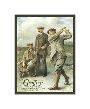 Golf - Geoffrey's Golfers Tin Sign