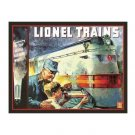 Lionel Trains - 1935 Tin Sign