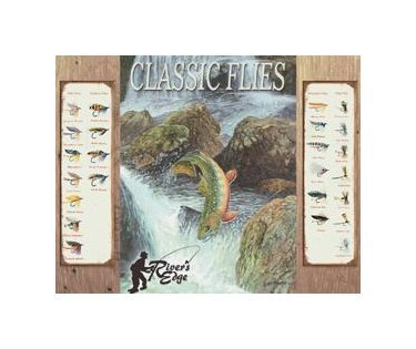 Fishing - Mowery River's Edge Tin Sign