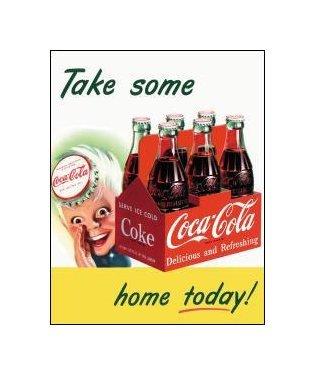 Coca Cola - Sprite Boy, Take Some Home Today Tin Sign