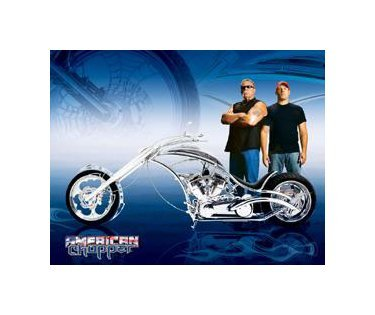 American Chopper - Future Bike Tin Sign