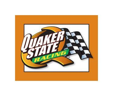 Quaker State Racing Tin Sign