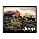 Jeep - 60 Years of Tradition Tin Sign