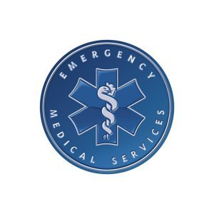 Emergency Medical Services - Round Sign