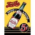 Pepsi Cola - Bigger and Better Bottle Tin Sign