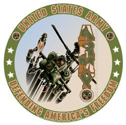 United States Army - Defending America's Freedom Tin Sign