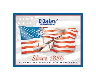 Daisy - Since 1886 - A Part of America's Heritage Tin Sign