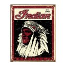 Indian Motorcycles - Est 1901 Tin Sign