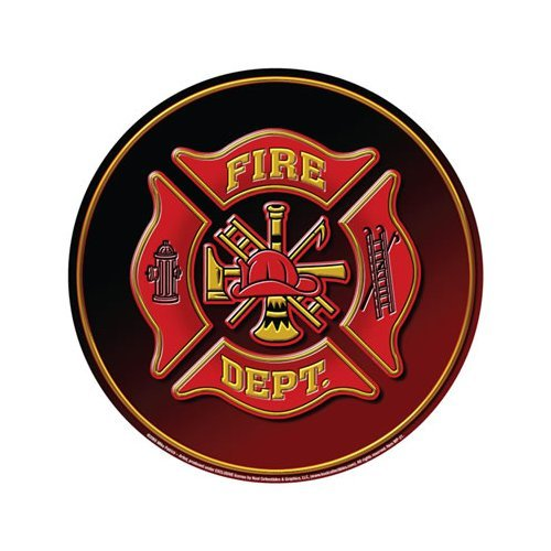 Fire Department - Round Sign