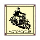 Harley Motorcycles - Metal Art Sign
