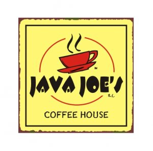 Java Joe's Coffee House Metal Art Sign