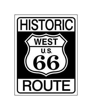 Route 66 - Historic Route 66 Tin Sign
