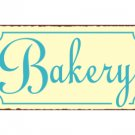 Bakery Metal Art Sign