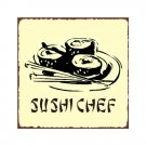 Sushi House Metal Art Sign
