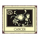Cancer Zodiac Metal Art Sign