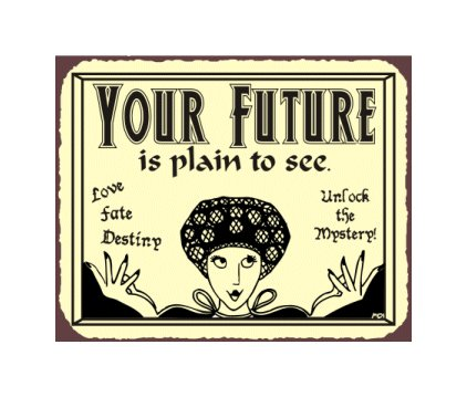 Your Plan is Plain to See Metal Art Sign