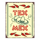 Tex Mex Metal Art Sign