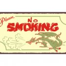 Please No Smoking - Metal Art Sign