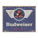 Budweiser Beer - 1936 Logo - Tin Sign
