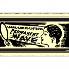 Permanent Wave Metal Art Sign