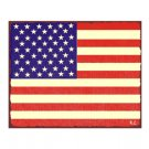 American Flag Metal Art Sign