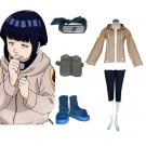 """Naruto Hinata Hyuga Deluxe Women's Cosplay Costume and Accessories Set"